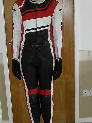 Ladies' motorcycle leathers size 8/10