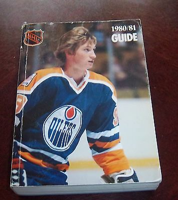 Official NHL  Guide 1980-81 Wayne Gretzky