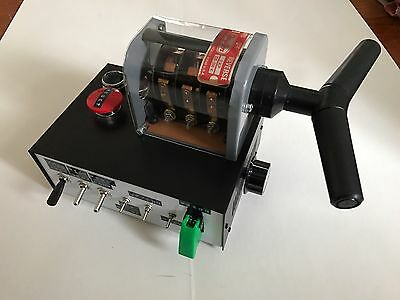 BTTF Back To The Future TFC Time Circuit Switch DeLorean ,Working Prop ,Sounds