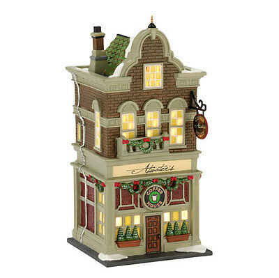 Department 56 Christmas in the City Atwaters Coffee House East Village Shops