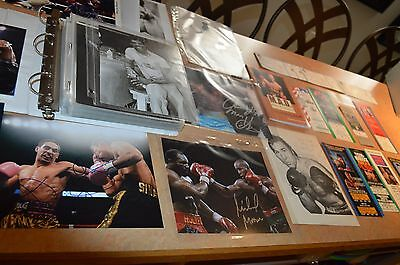 Nice Boxing Autographed Photo & Ticket Collection!!! Must See!!!