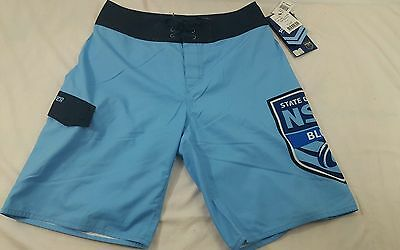 Quiksilver Boy's Board shorts NRL Rugby Bathing Swim Suit Shorts NSW Blues