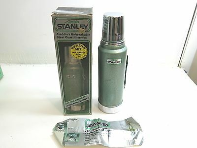 New / Nib Aladdin Stanley Green Thermos No A-944Dh Quart
