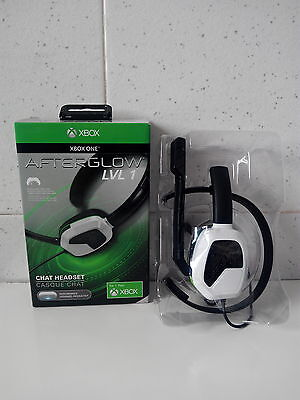 Chat Headset Afterglow - LVL 1 - Para Xbox One **Nuevo**