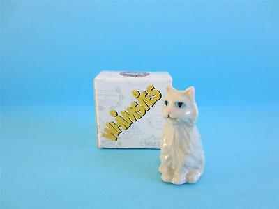 Wade Persian Cat Whimsies Set 8, 2006 *discontinued* Hard To Find Mint