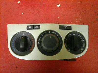 Vauxhall Corsa D A/c Heater Control Switch Panel Air-Con 2006-14