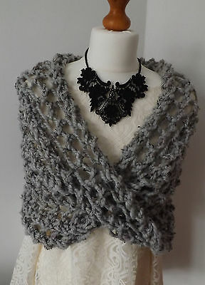 Knitting kit for a cosy shoulder shrug/cowl