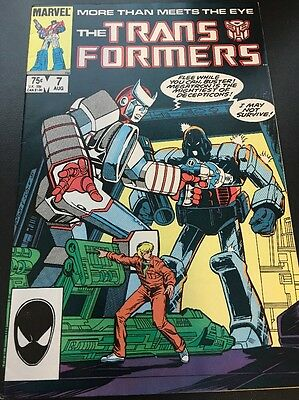 The Transformers #7 Volume 1 Marvel Comics