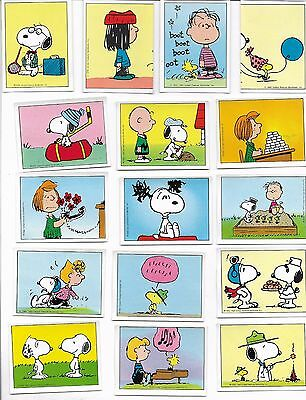I Love Snoopy 1986 Panini 47 Stickers