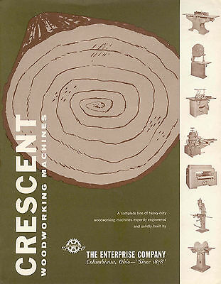 Crescent Enterprise Woodworking machines Brochure