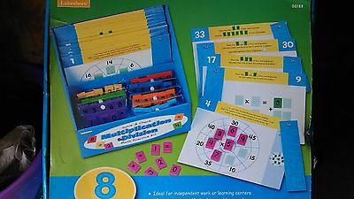 Lakeshore Educational Learning Math Practice Division and Multiplication Kit
