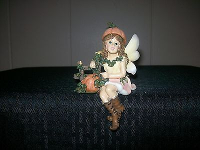 Boyds Bears Wee Folkstone Autumn Faeriefrost Harvest Time w/COA  #36005