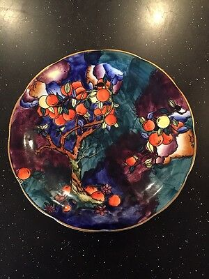 ANTIQUE SIGNED MOLLY HANCOCK CORONAWARE HAND PAINTED CHERRY RIPE Plate