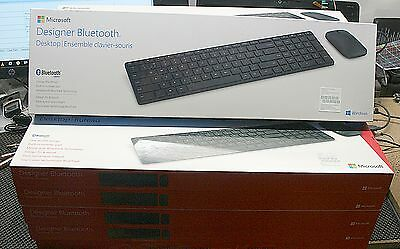 Microsoft Designer Bluetooth Desktop Keyboard & Mouse Combo (French) - 7N9-00003
