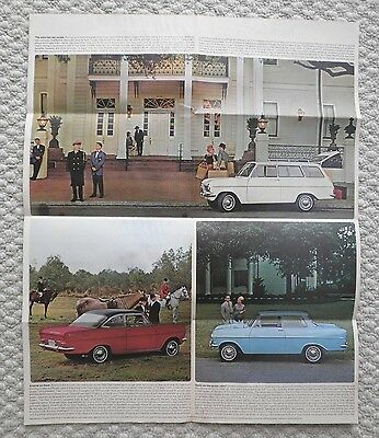 1964 OPEL KADETT Brochure / Poster with Spec's: Sport Coupe,Station Wagon,