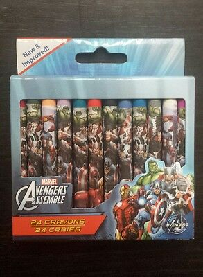 Marvel Avengers crayons 24 pack