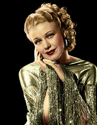 Ginger Rogers UNSIGNED photo - H4719 - Roberta