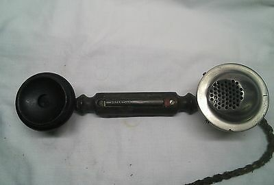 Early Ericsson handset with 4 pin connector block.