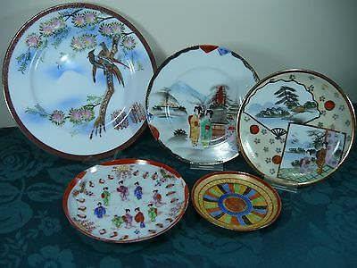 Group Lot Of Display Plates