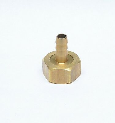 """3/8 ID Barb x 3/4"""" Female Garden Hose GHT Water Hose End Fitting FasParts"""
