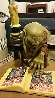Rare Euc Tales Of The Crypt Crypt Keeper Candelabra Horror Halloween Lights Up