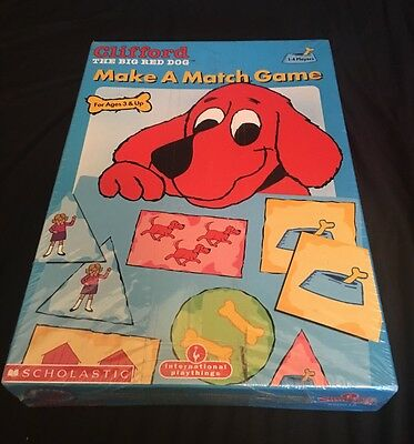 Clifford The Big Red Dog Make A Match Game