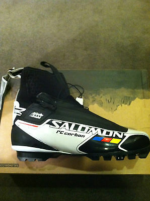 Salomon RC Carbon UK 4.5 Classic Nordic Ski Boots