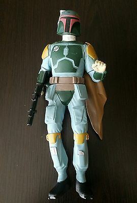 "Vintage Star Wars 1995 Boba Fett 10"" LFL By Applause Action Figure"
