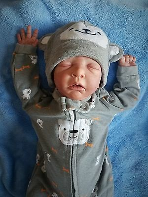 Realistic Reborn Baby Boy Doll MAURICE by EVELINA WOSNJUK Hard to Find!