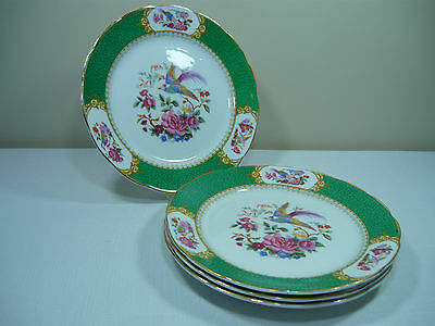 4 X Pretty Plates With Markings