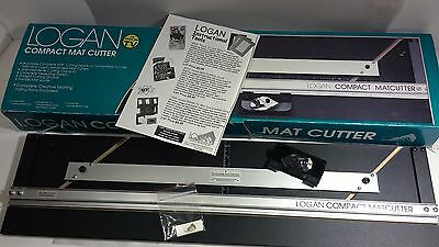 NICE Logan Compact Mat Bevel Cutter 301 System Complete Box Set MADE IN USA!