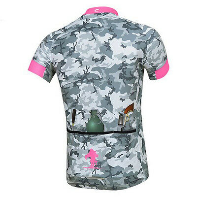Hot Men Cycling Jersey Tops Mtb Bike Clothing Bicycle Road Short Sleeve Jersey