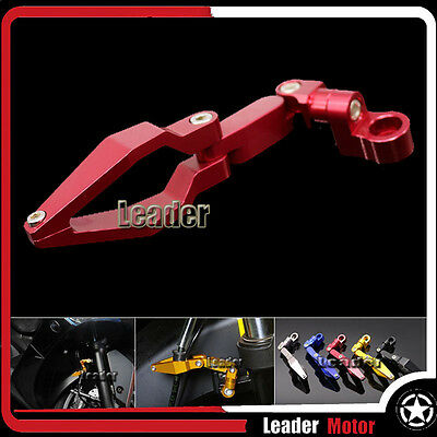 For BMW R1200GS R1200 GS ADV R1200R/S F800R/S F700GS Brake Line Clamp Red