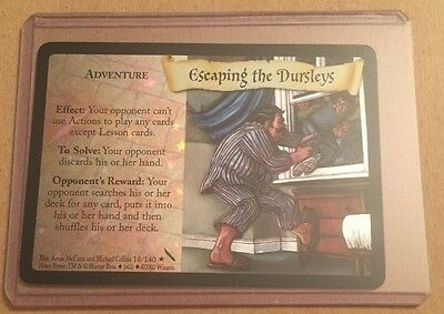 Escaping The Dursleys Foil Card - 18/140 Harry Potter Tcg Chamber Of Secrets