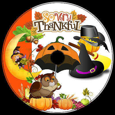 500+ GREAT clip art CD ROYALTY-FREE .png & vector FALL THANKSGIVING HALLOWEEN