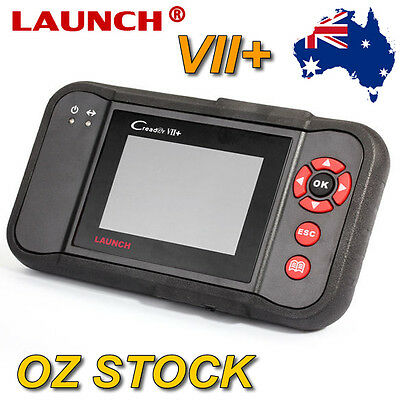 Launch X431 Creader VII+ 7+ CRP123 OBD2 EOBD Engine Transmission ABS airbag DTC