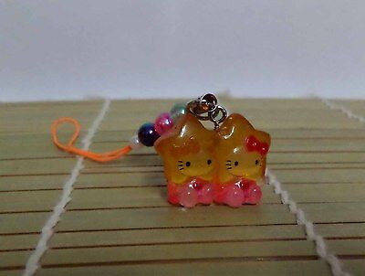 Brand New Hello Kitty Cosplay Little Twin Star CellPhone Charm Mascot