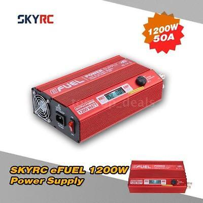 SkyRC eFuel 1200W 50A Power Supply 15-30V with Smart Cooling Fan