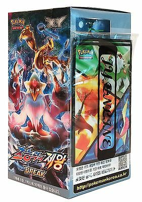 Pokemon Card XY10 BREAK Booster Pack Box 30 Packs in 1 Box Fates Collide (Awa...