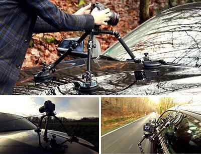 Camtree Universal Gripper G-51 Suction Mount For DSLR HDV Car Glass Windshield