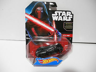 Hot Wheels Star Wars: The Force Awakens Kylo Ren Character Car by Hot Wheels