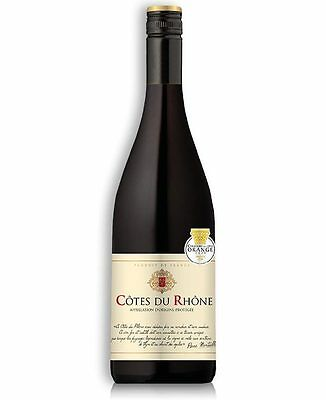 Pierre Montaillac Cotes Du Rhone 2015 French Gsm (12 Bottles
