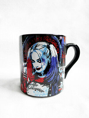NEW DC Comics HARLEY QUINN Suicide Squad Daddys Lil Monster Ceramic 14oz Mug/Cup