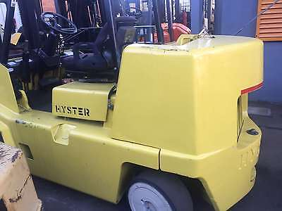 Hyster 7 Ton forklift 5700mm Lift Height Side Shift $29,999+GST Negotiable