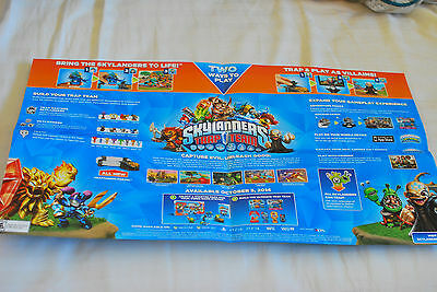 SKYLANDERS TRAP TEAM SDCC Comic Con Limited Edition POSTER