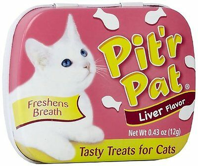 Pit-R-Pat Breath Fresheners For Cats .43Oz 12/Pkg