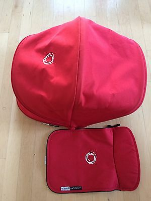 Bugaboo Cameleon 3 RED Fabric Set canopy apron fit cameleon 1 2 3 stroller model