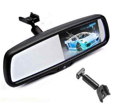 """4.3"""" LCD Car Rear View Mirror With Bracket For Toyota Honda Ford Buick VW KIA"""