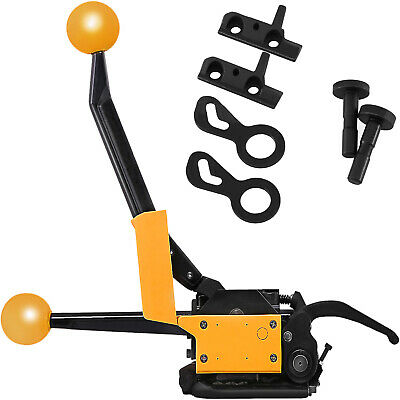 """A333 Manual Steel Strapping Tool No buckle 1/2""""-3/4"""" Sealless 13mm-19mm HOT"""