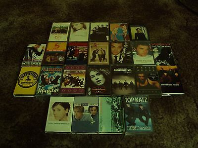 Collection of 23 Pop Music Cassette Singles & Albums from the 1990s and 2000s